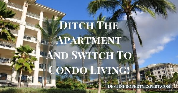 Ditch renting an apartment and buy a condo