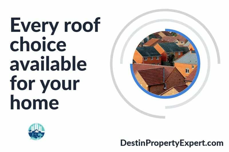 Learn about every roof choice available for your home