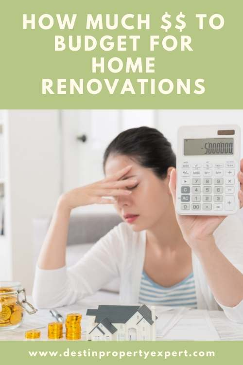 Budgeting for home renovations