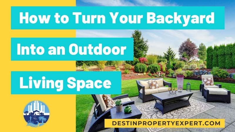 Making living space out of your backyard