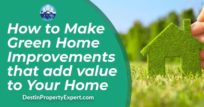 How to make green improvements that add value to your home