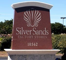Silver Sands outlet mall in  Miramar Beach Florida
