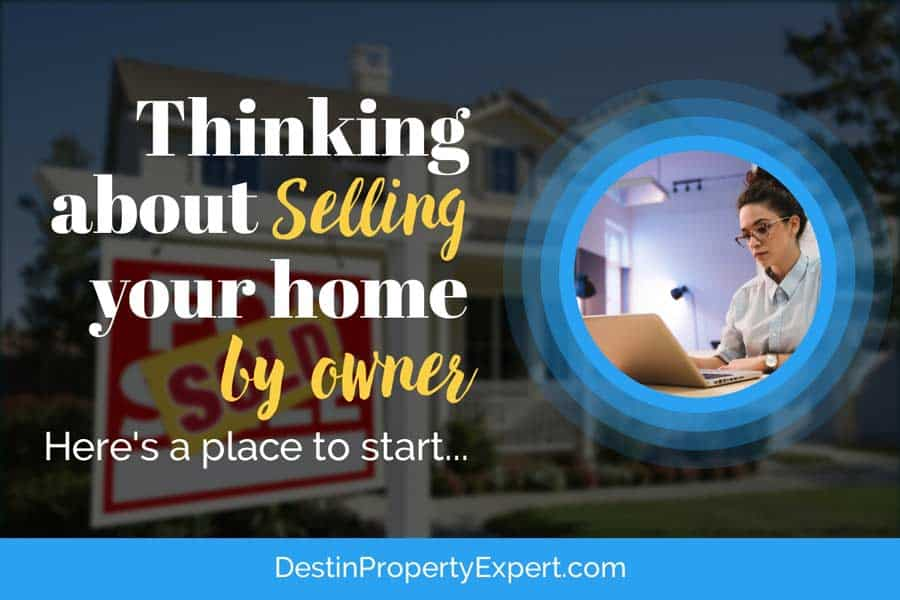 Thinking about selling your home by owner?  Here's the place to start