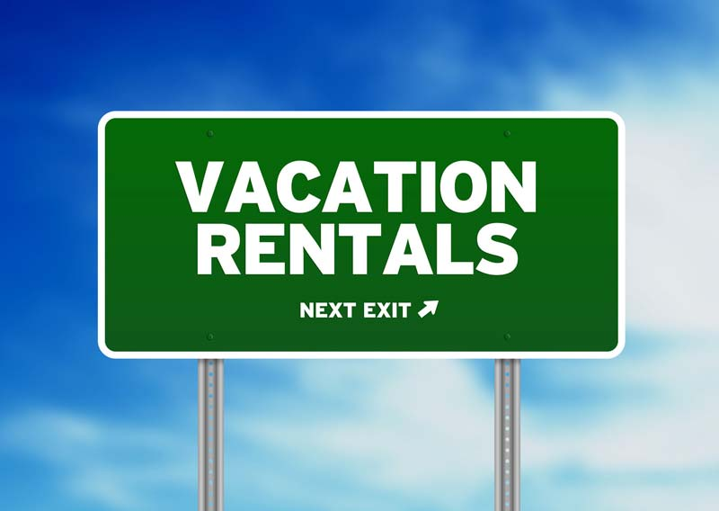 Types of vacation rental properties