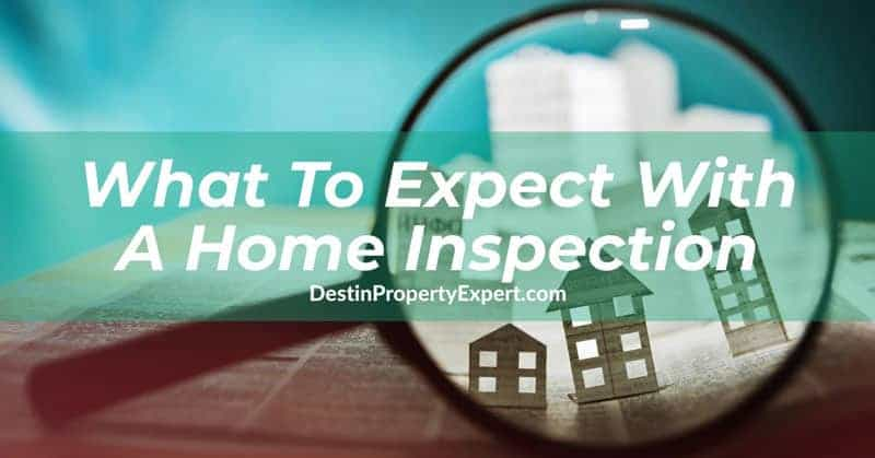 What to expect with the home inspection