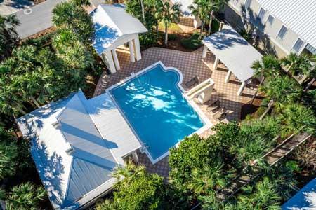 Frangista Beach community pool