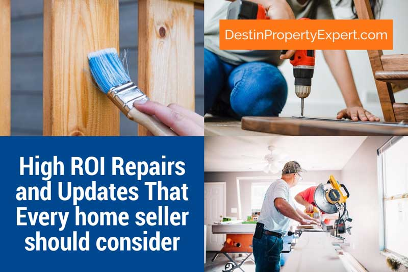 High return on investment repairs and updates that every home seller should consider