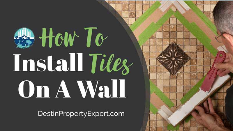 How to install tiles on a wall quickly and easily