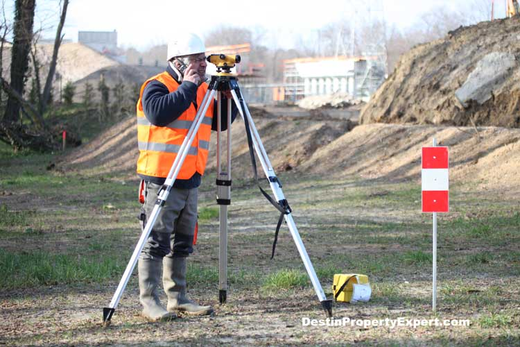 Surveying vacant land