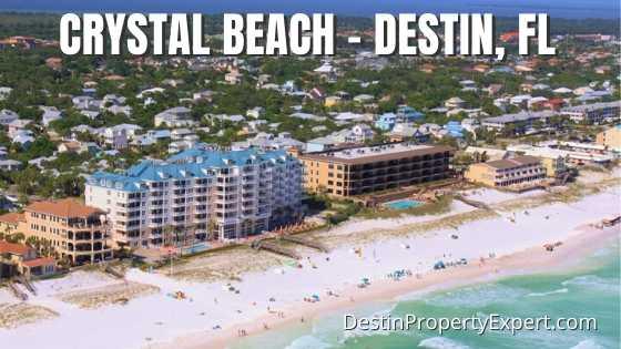 Crystal Beach homes and condos in Destin Florida