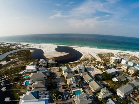 Grayton Beach homes on 30a in South Walton Beach