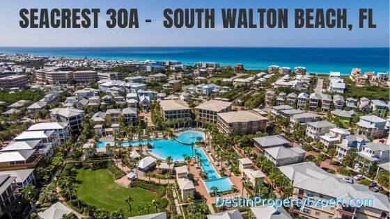 Seacrest 30a homes and condos in South Walton Beach Florida