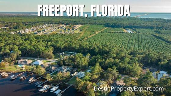 Freeport Florida homes and land for sale
