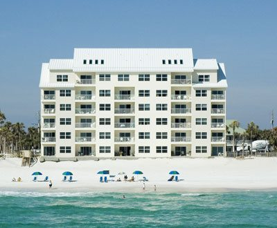 Emerald Dunes is a beachfront condo in Destin Florida