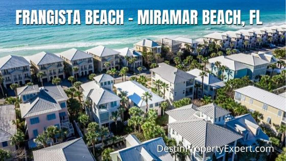 Frangista Beach neighborhood homes for sale