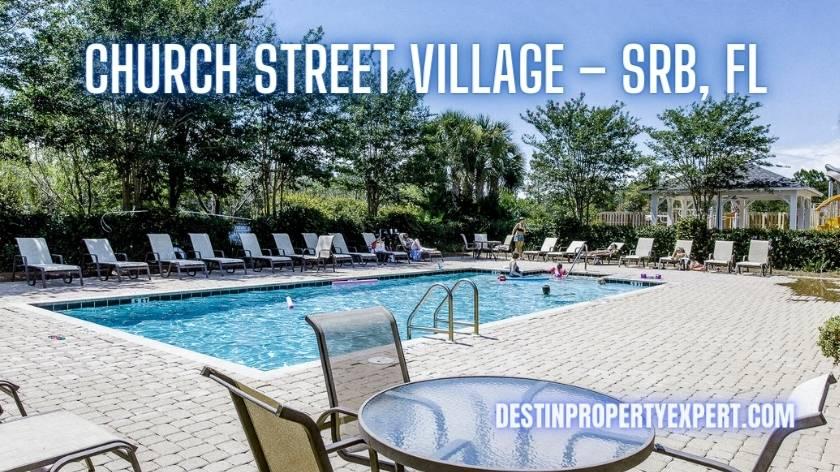 Church Street village homes for sale in Santa Rosa Beach
