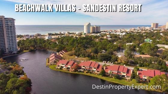 Beachwalk Villas for sale at Sandestin Resort