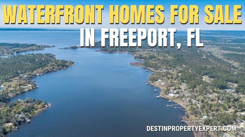Waterfront homes for sale in Freeport, Florida