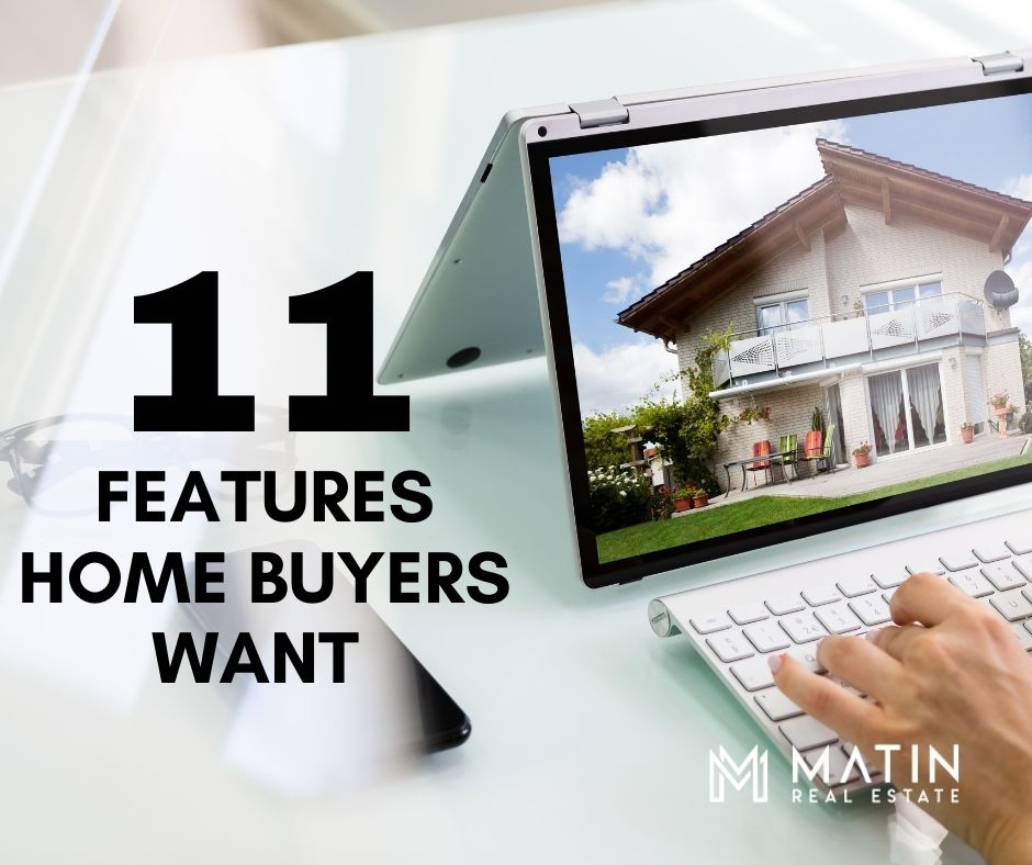 11 Features Home Buyers Want