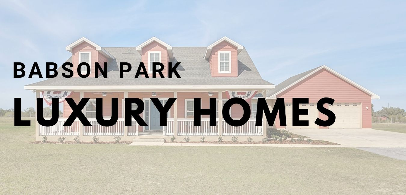 babson park luxury lakefront homes