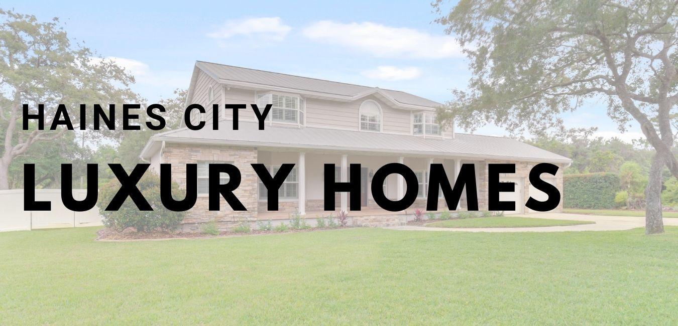 haines city luxury homes