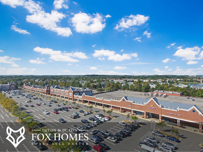 Ashburn Village shopping center