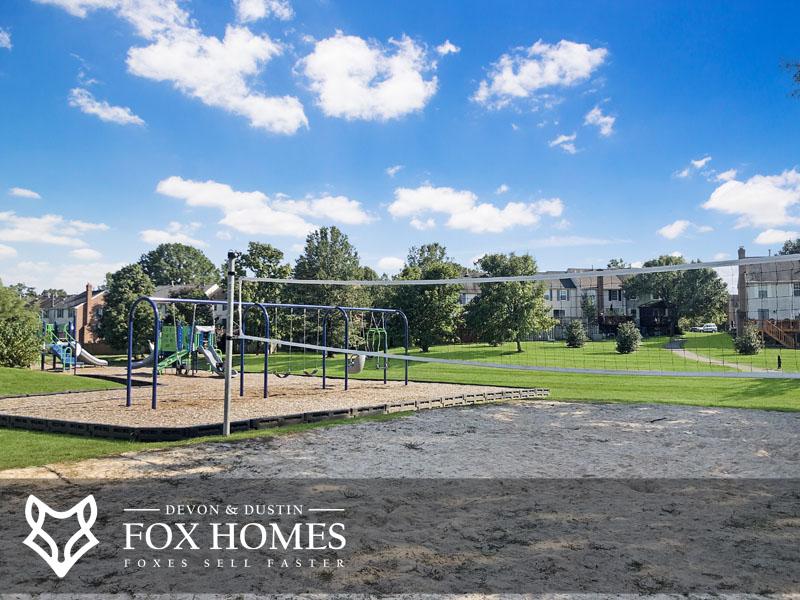 Ashburn Village playground falmouth court