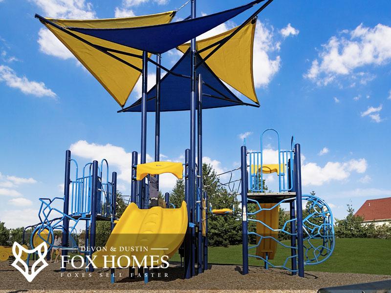Ashburn Village playground Rosetta place