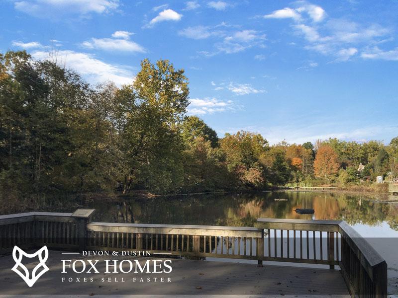 Cabells mill real estate pond
