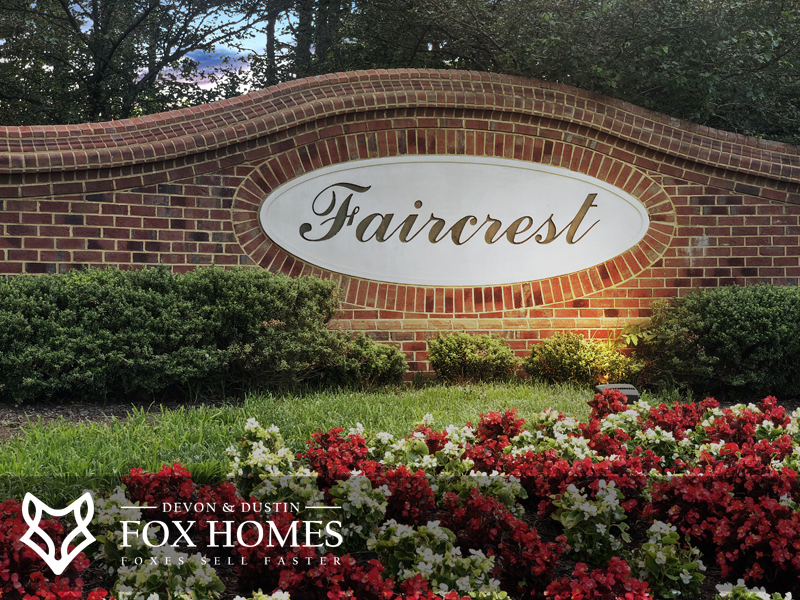 Faircrest Centreville Homes For Sale