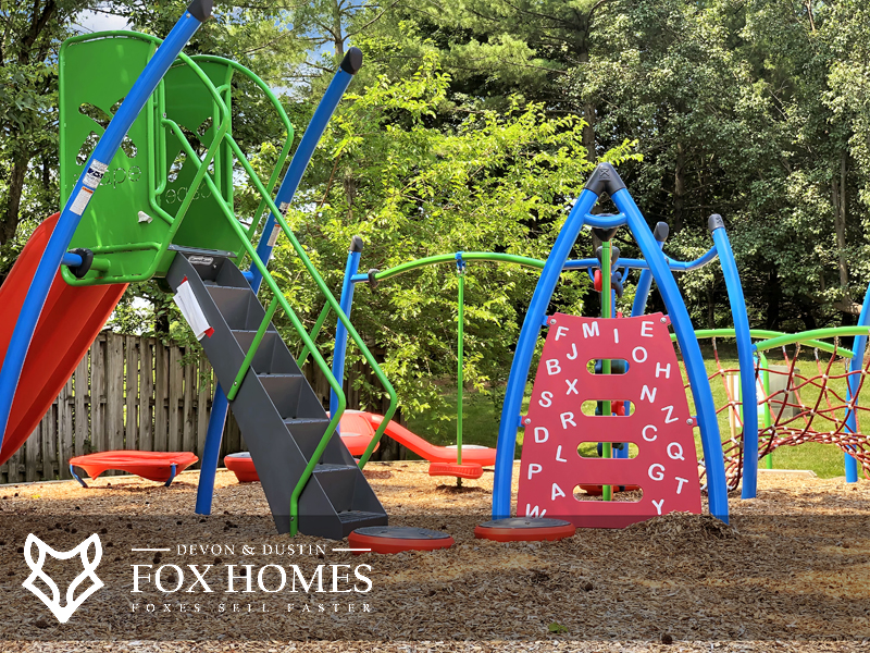 Little Rocky Run Playgrounds tot lots Play