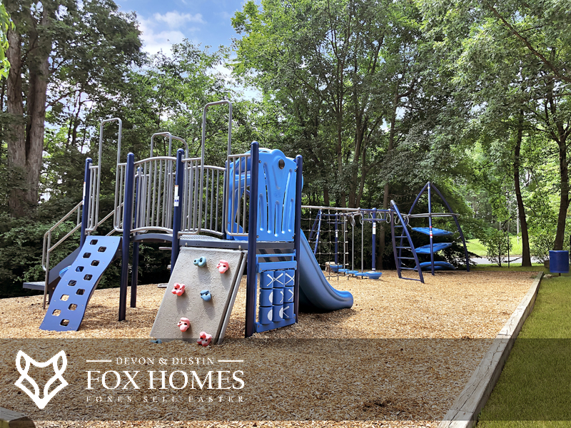 Little Rocky Run Playgrounds tot lots Outdoor Play Area