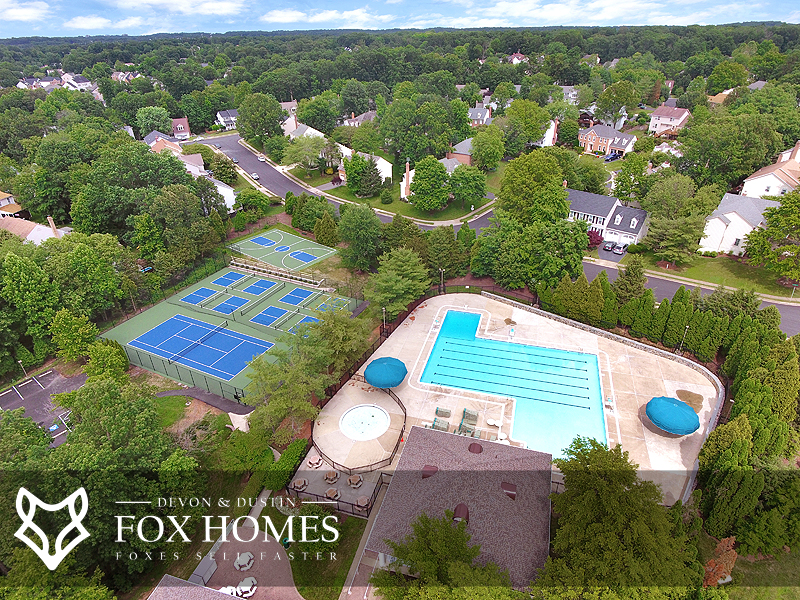 Little Rocky Run Homes Community Center Recreation and pool
