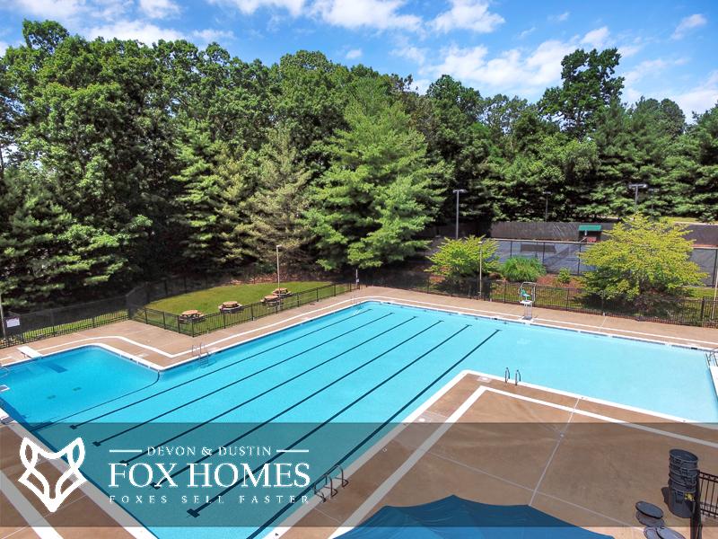 Little Rocky Run Homes Community Pool