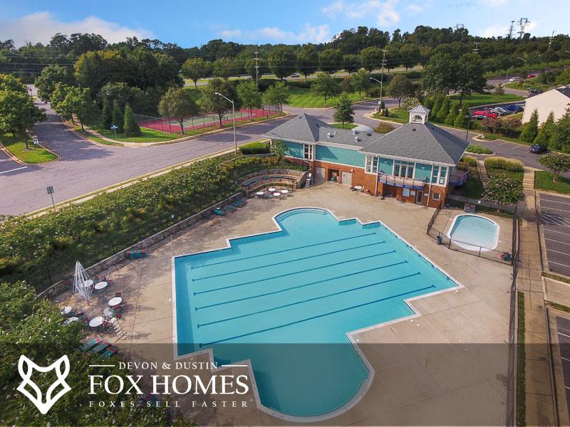 Compton Village hoa pool