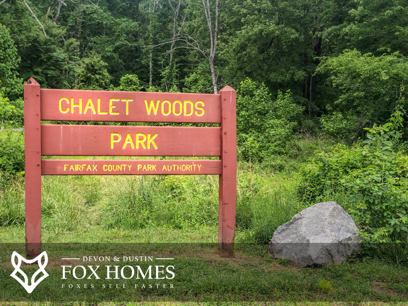 Chalet Woods Park near Country Club Manor