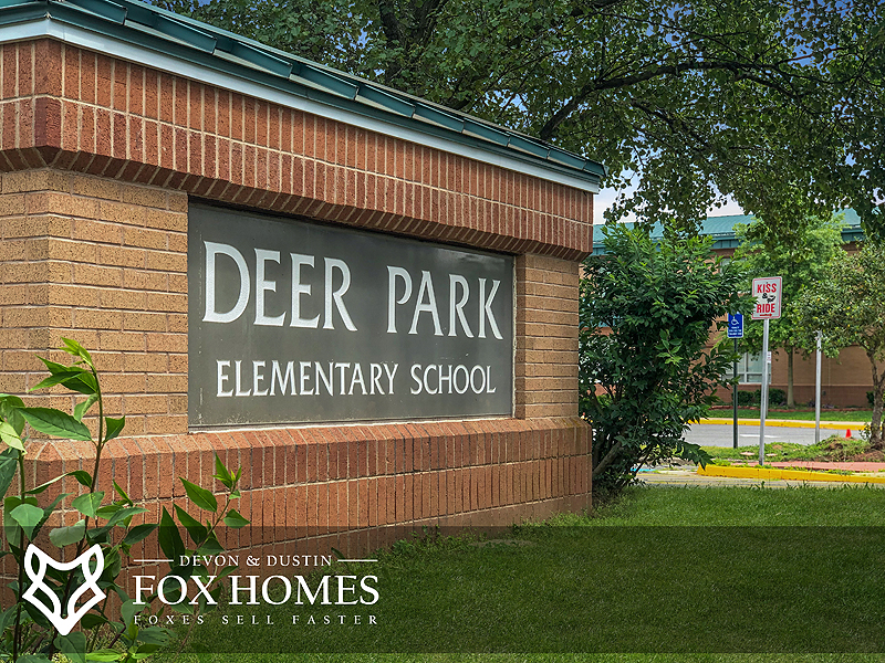 Deer Park Elementary Centreville Real Estate