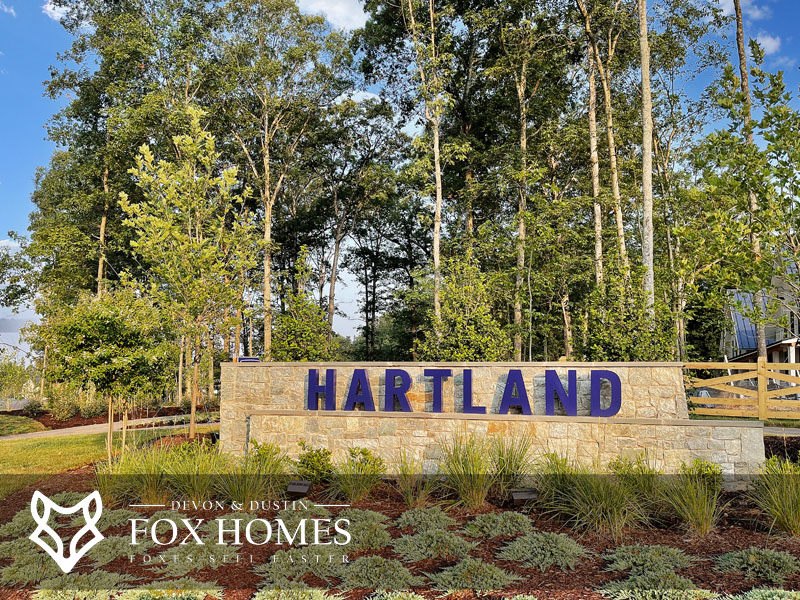 Hartland Aldie Homes for sale