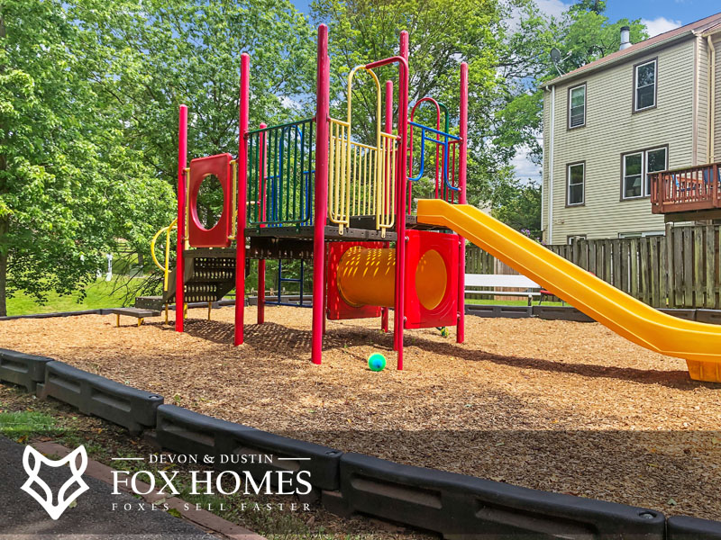 Heritage Crossing playgrounds and tot lots