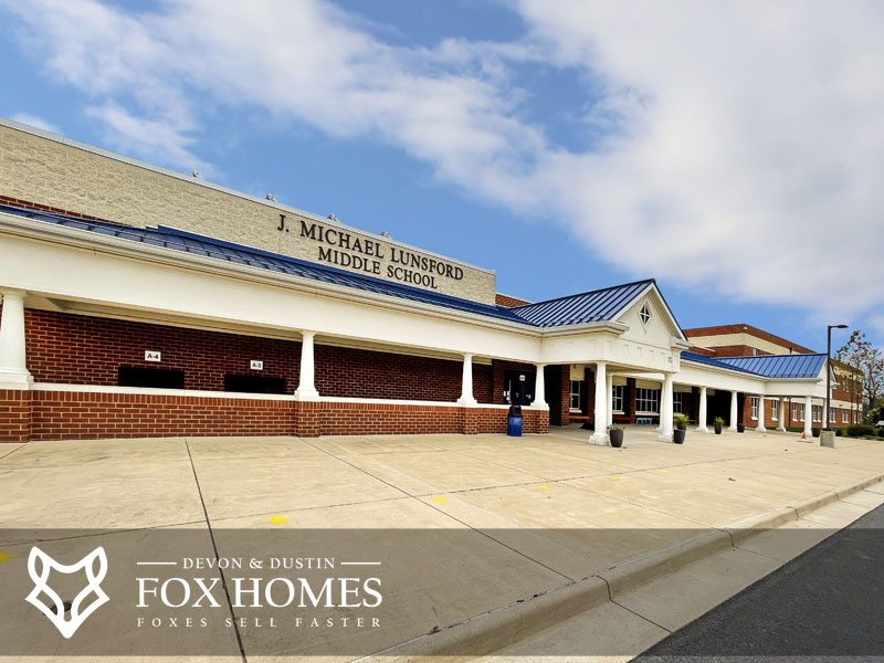 J Michael Lunsford Middle School South Riding