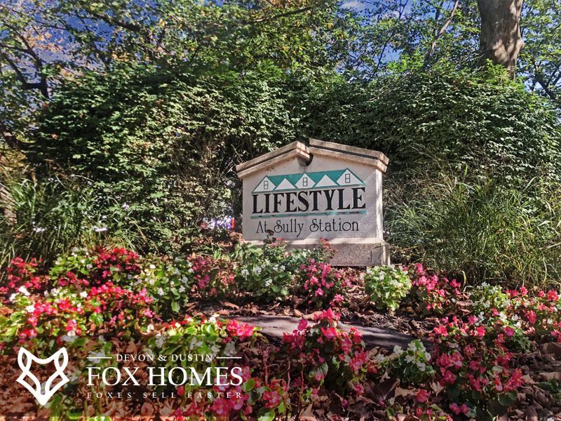 Lifestyle at Sully Station Homes for sale