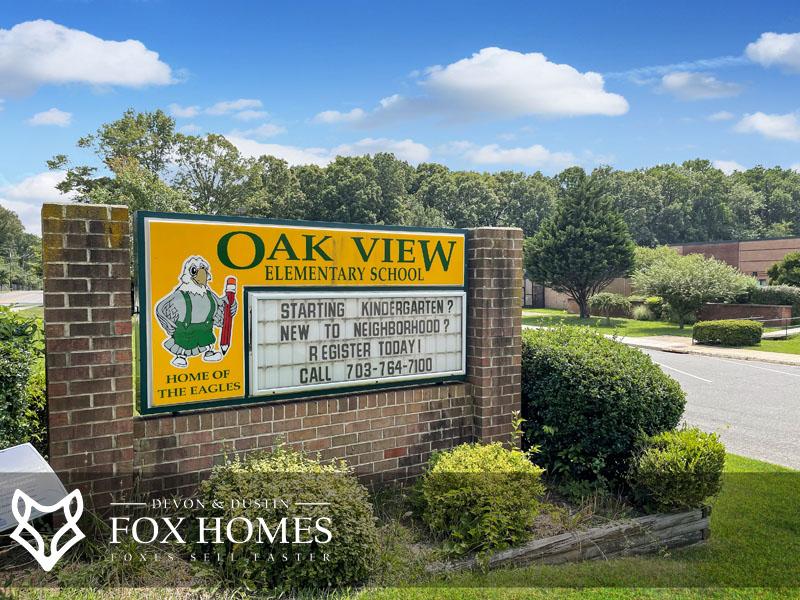 Oak View Elem Fairfax Real Estate Agent