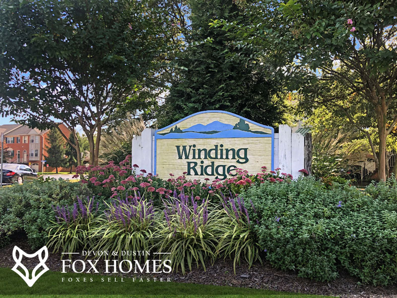 Winding Ridge homes for sale centreville