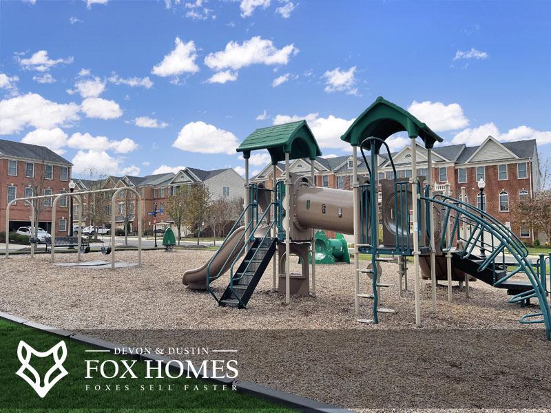america square park playground south riding