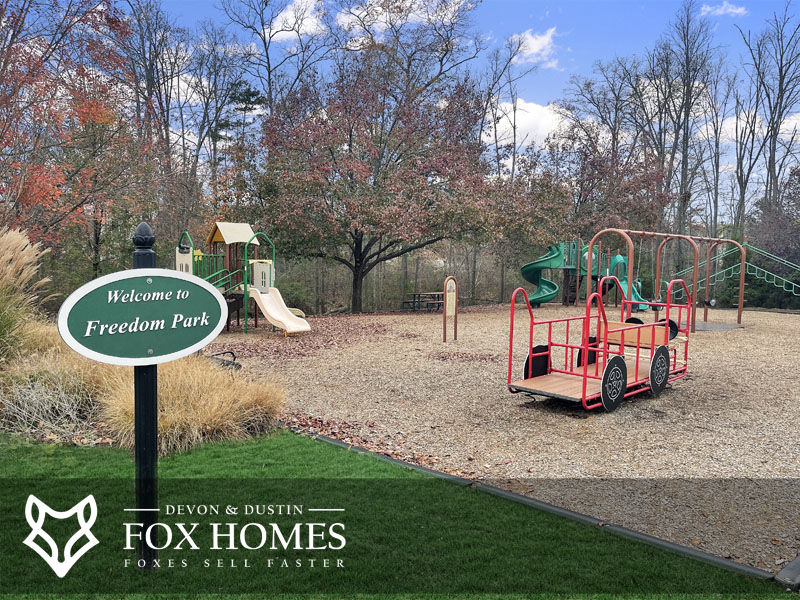 freedom park playground south riding