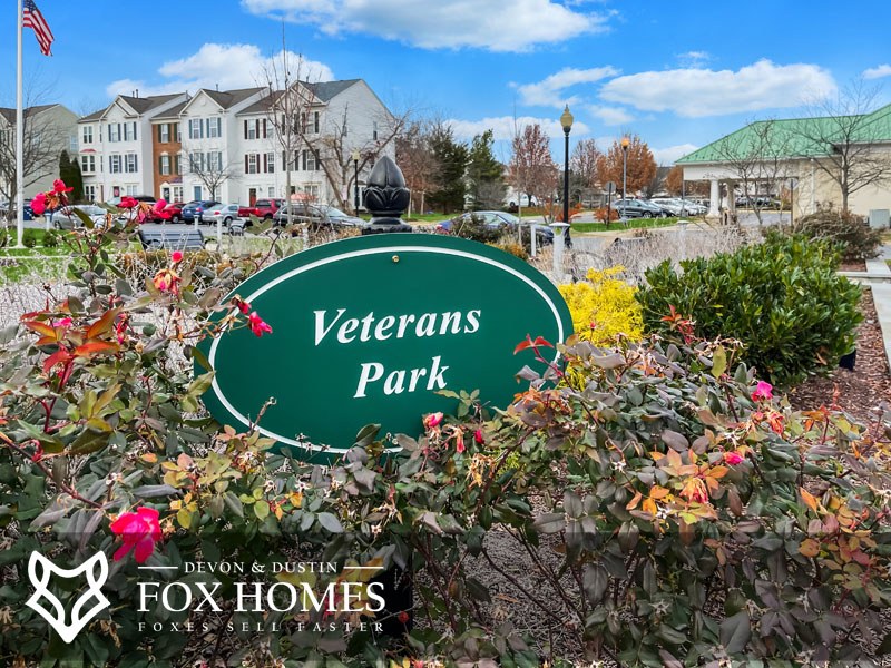 veterans park south riding