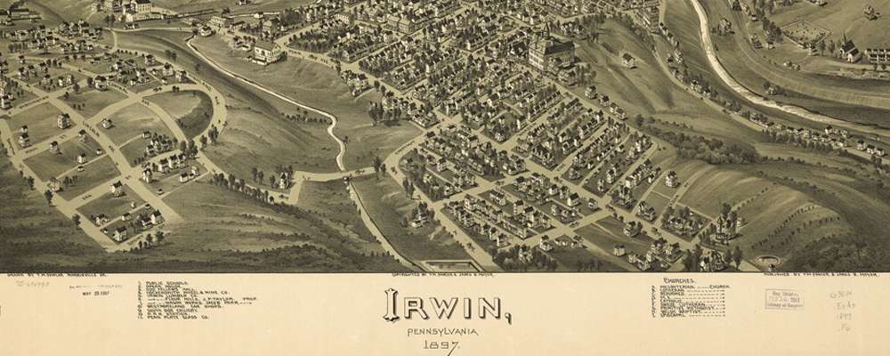history of Irwin PA
