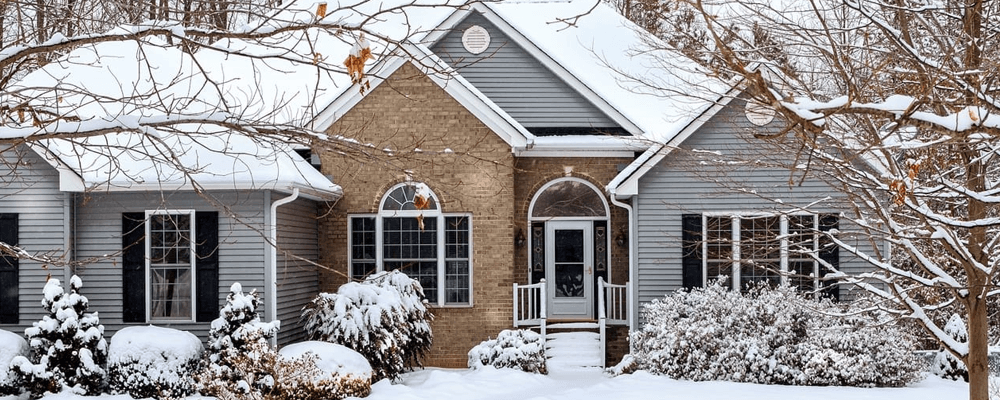 home shopping during winter