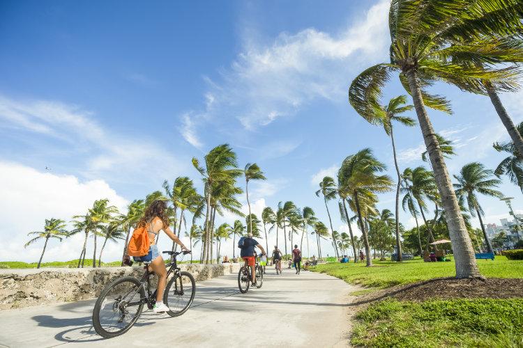 Miami Beach cycling