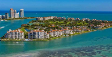 Fisher Island overview